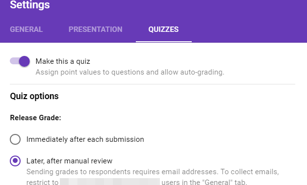 Google Forms Quiz: A much needed feature for teachers