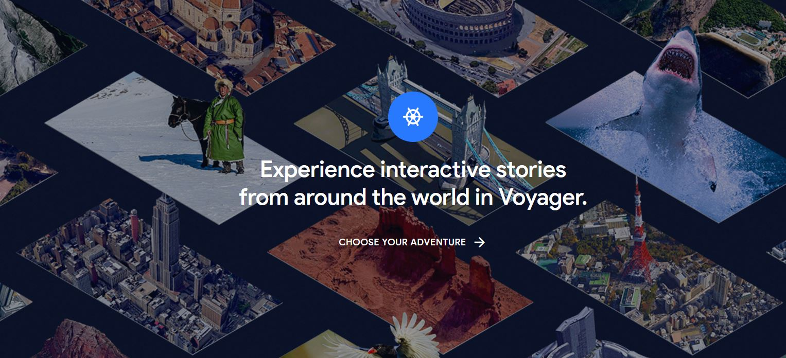 The New Google Earth Voyager for Exploratory Learning